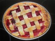 French Raspberry Pie