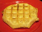 Golden Corn Waffles