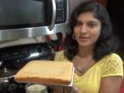 Moist Eggless Sponge Cake