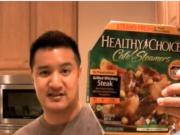 Healthy Choice Cafe Steamers Grilled Whiskey Steak Review