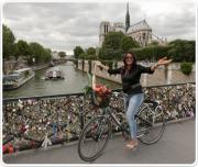 Rashmi Uday Singh in Paris