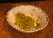 Raw Kelp Noodles In Basil Pesto