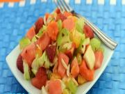 Fruit and Lettuce Salad by Tarla Dalal