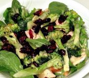 Buttermilk Dressed Chicken Broccoli And Apple Salad
