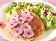 Japanese Sakura Pancake