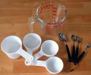 baking measures for baking