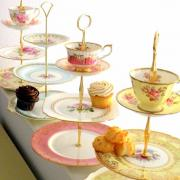 Lavish cake stand for Sultan of Oman