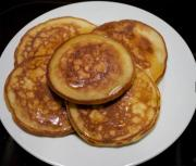 Whole Wheat Pancakes With Honey