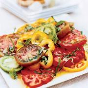 Fresh tomatoes can be eaten by including them in salads