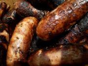 Poach sausage