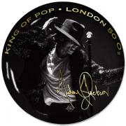 The MJ Collector's plate