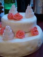 Rose Cream Cake