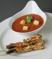 Gazpacho is a traditional Spanish cold soup