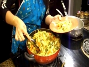 Indo-Chinese Noodles / Hakka Noodles / Veg Stir Fry