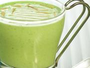 Broccoli and Almond Soup by Tarla Dalal