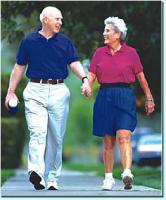 elderly couple and spring dinner menus
