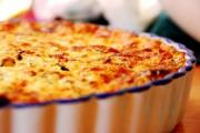 Cheese, Bacon, and Onion Quiche