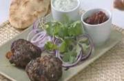 Pakistani Beef Cappli Kebabs