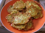 Zucchini And  Egg Fritters