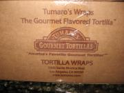 About 13 Different Tumaro's Wraps