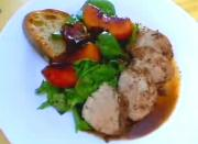 Roasted Pork Tenderloin With Glazed Balsamic Peaches - Part 1