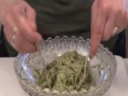 Almond Pesto With Cucumber Noodles