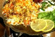 Biryani in a top restaurant at Ann Arbor