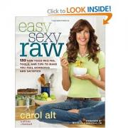 Carol Alt's raw food diet cookbook