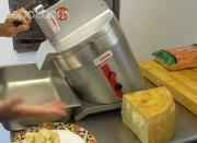 Grating Hard Cheese with CD SAM CA300 Pro Food Processor