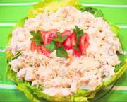 Gluten Free Creamy Crabmeat Pasta Salad