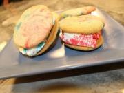 Tie n Dyed Sugar Cookie Ice Cream