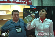 Singing Tequila Girl at the Fancy Food Show