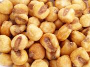 Corn nuts as snacks