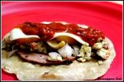 Juicy Mortadella Burritos