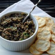 tapenade eating