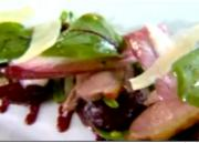 Smoked Duck Salad with Walnut and Beetroot