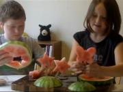 2 Kids Cooking TV: Melon Pops