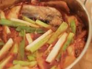 Feeling Unwell: Korean Kimchi Mackerel Soup