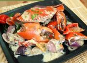 Spicy Crab In Coco Milk