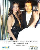 Chef Vikas with the Miss Universe