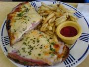 French-Toasted Ham And Cheese