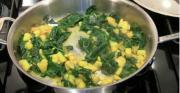 Indian Spicy Spinach And Potato Curry