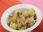 Tilwale Aloo ki Chaat (Calcium Rich Recipe) by Tarla Dalal