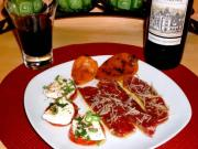 Low Carb Salt Cured Tuscan Steak and Caprese Salad