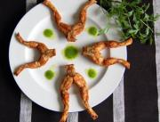 Frog legs are a delicacy in France