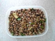 Dark Eyed Beans Palya