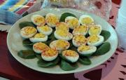 Olive Stuffed Eggs