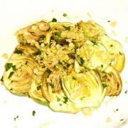 Salad With Marinated Artichoke Hearts