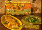 Pork Tenderloin Cutlets With Apple Cider Mustard Pan Sauce