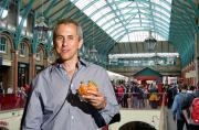 Danny Meyer of Shake Shack stands insider the Market Building in Covent Garden, where he is going to open his first London outlet.